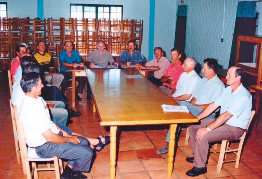 Na continuidade da gestão de Léo Otonelli como Presidente e Rubens José Fischer como Vice-Presidente, foi eleito Selso Roque Zontta para Secretário, permanecendo até 2009.
